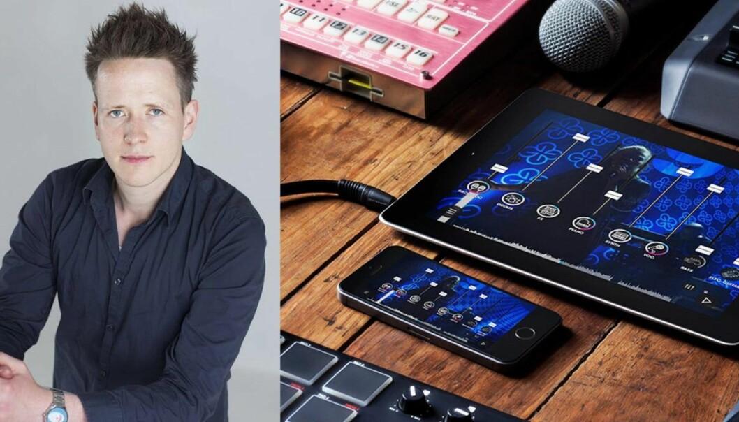 Yrjan Tangenes er med-gründer av appen Oiid. Foto: Lars-Erik Berg /produktbilde