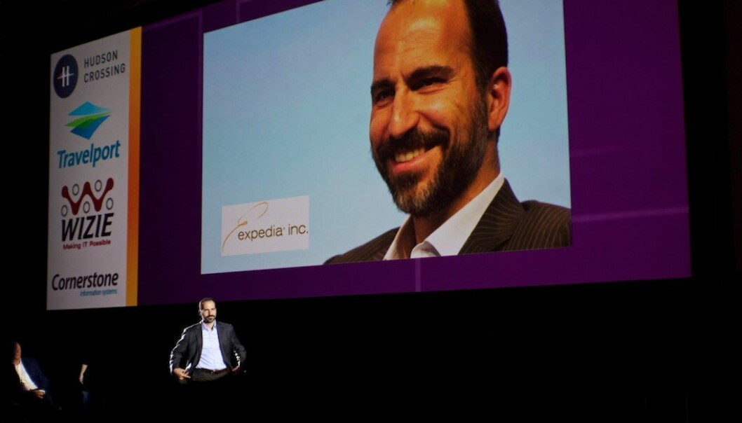 Ubers nye CEO Dara Khosrowshahi. Foto: George Grinsted/flickr