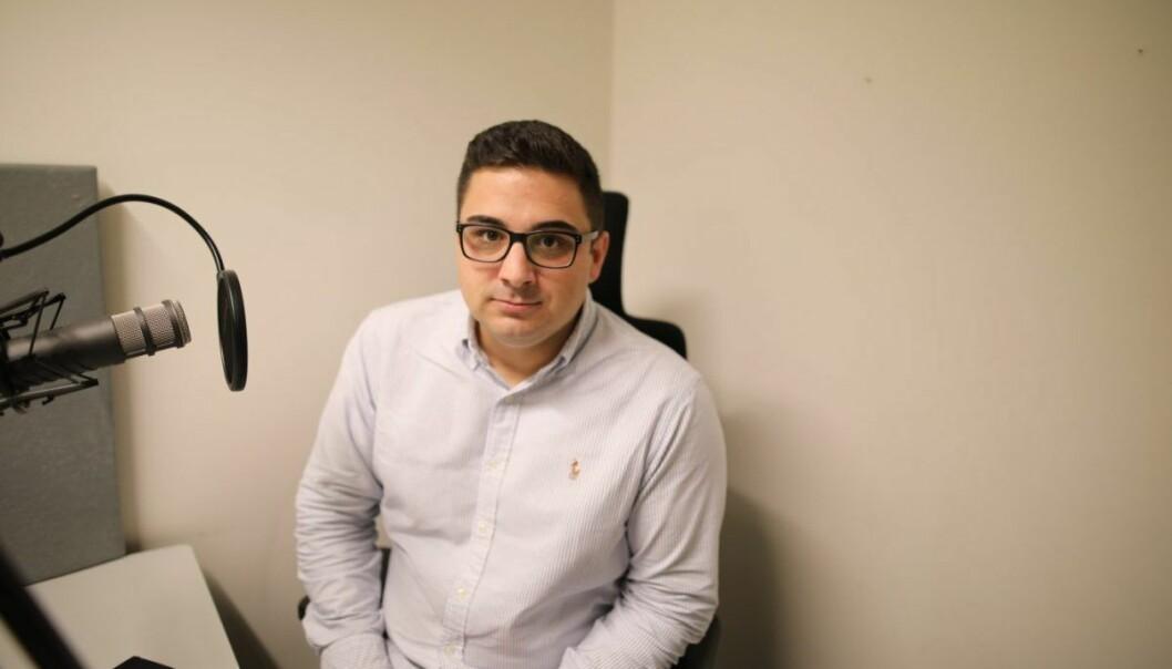 Sasan Mameghani i Maindeck har følt på gründerlivets utfordringer. Foto: Lucas Weldeghebriel