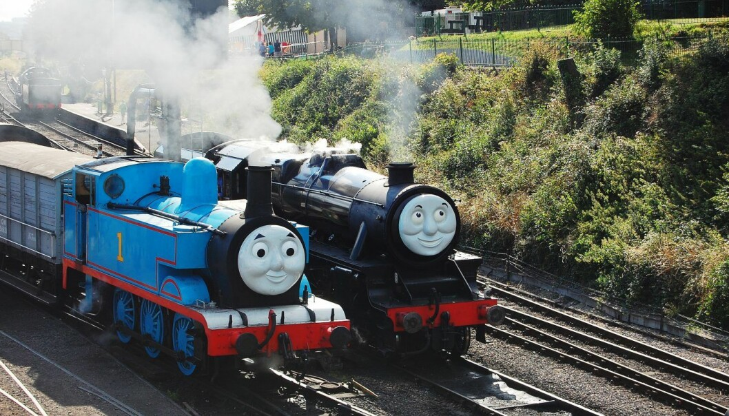 Lokomotivet Thomas og vennene hans. Foto: Thomas and Friends - Ropley. Flickr