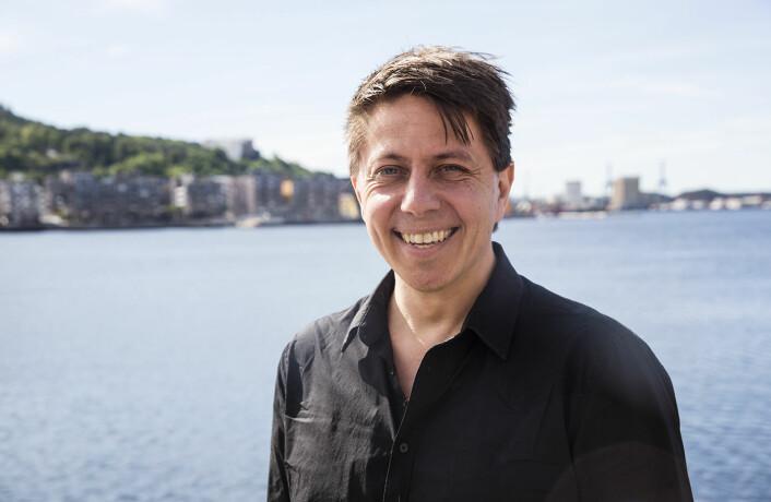 """<a href=""""https://shifter.no/podcast-lesespillet-smabarnsfar-daniel-senn-gikk-topps-pa-appstore/"""">Daniel Senn i Poio deltok i Shifters podcast </a>før sommeren. Foto: Per-Ivar Nikolaisen"""
