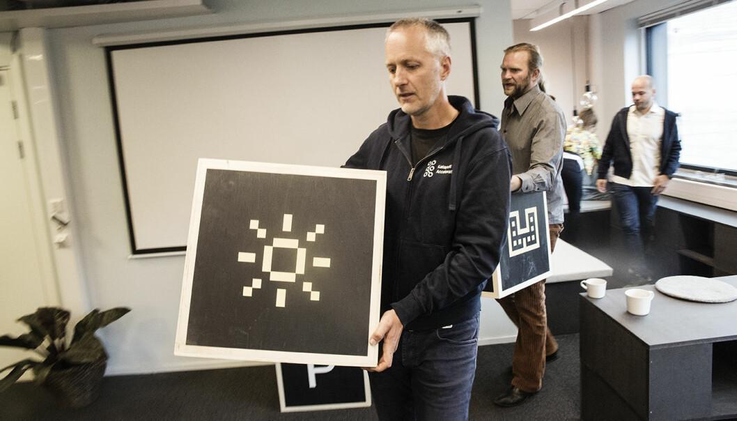 Anders Lier, Tharald Nustad og teamet i Nordic Impact står bak Katapult-akseleratoren. Foto: Per-Ivar Nikolaisen