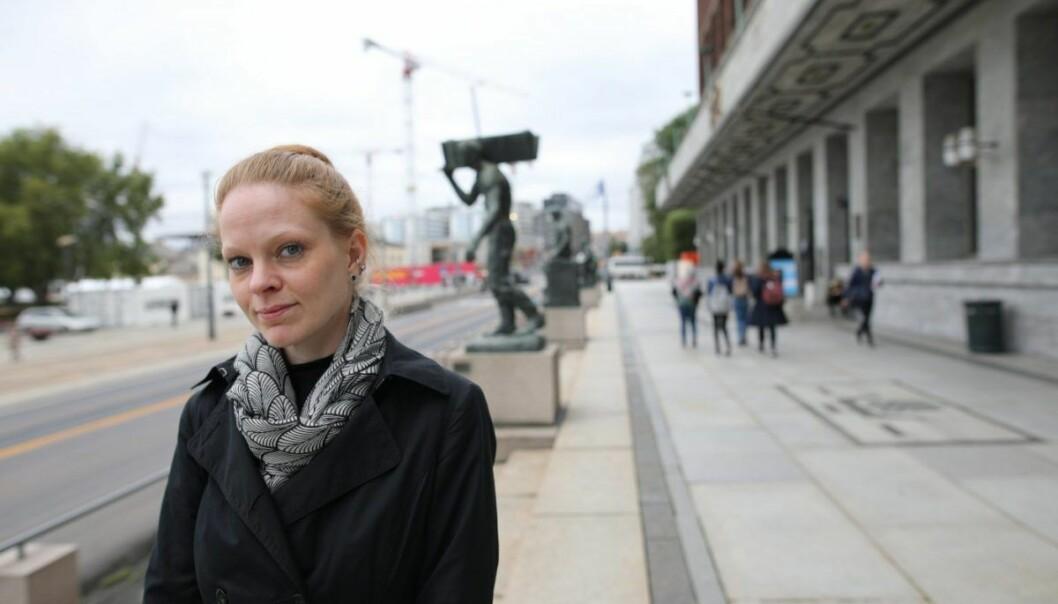 Caroline Carlqvist, sjef for personalisering i Zalando. Foto: Lucas Weldeghebriel
