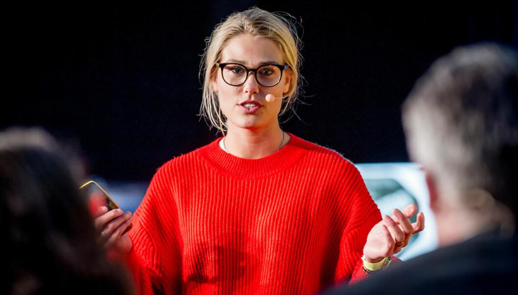 BySpire er en av startupene som gikk videre til finalen hos DNB NXT. Foto: Gorm K. Gaare, Oslo Innovation Week