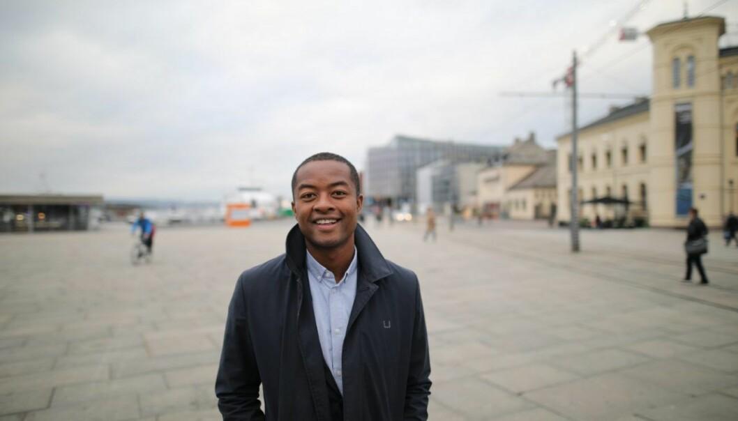 Andreas H.F. Olsen i NewMark Capital er på utkikk etter oppstartsselskaper å investere i. Foto: Lucas H. Weldeghebriel