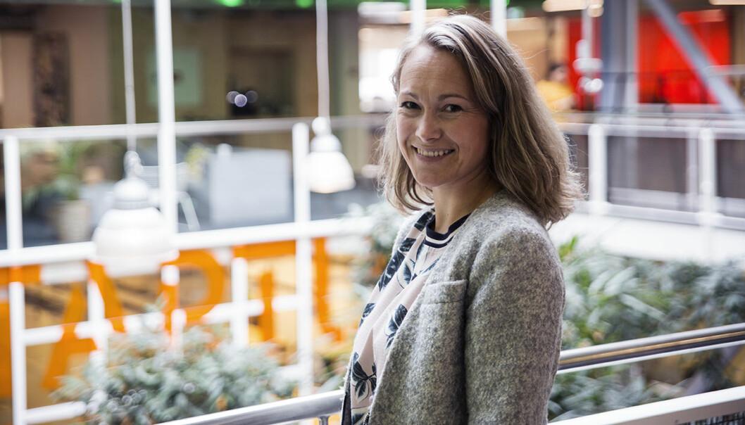 Elisabeth Falck er produktsjef for APIer i Telenor. Foto: Per-Ivar Nikolaisen