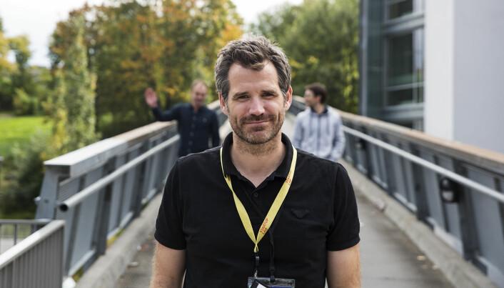 Alexander Woxen, StartupLab. Foto: Per-Ivar Nikolaisen