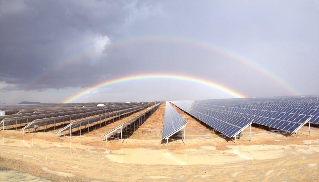 Norske Scatec Solar er en av dem som har hatt suksess med sin teknologi flere steder i verden.