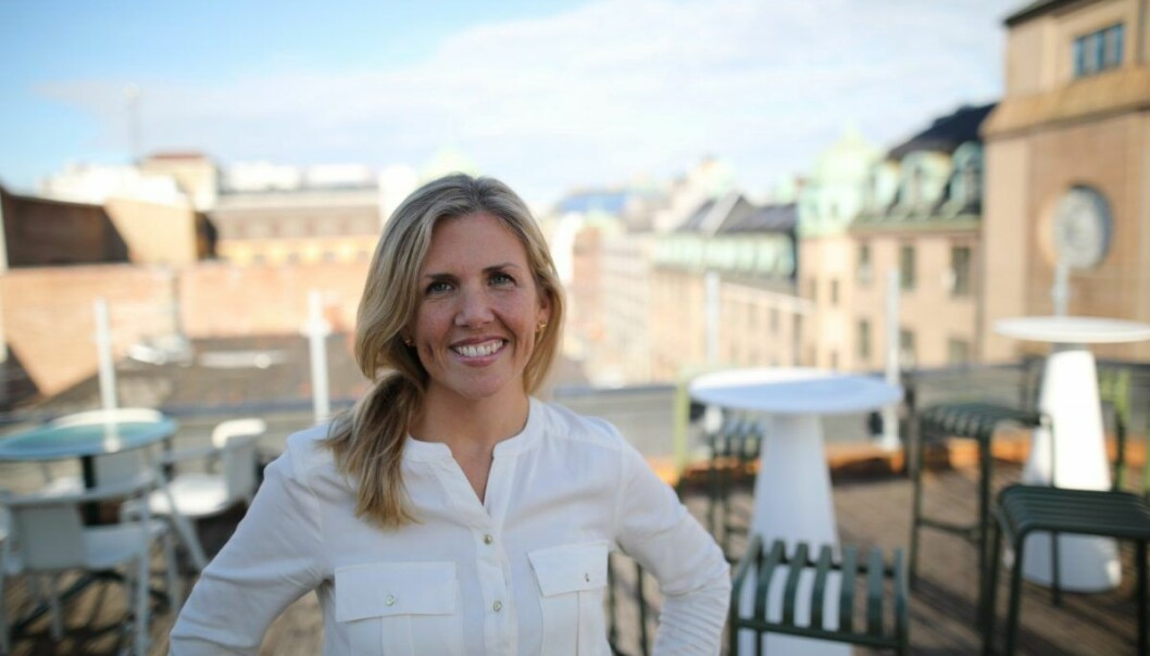 Christine Steinsholt i Listfully har laget en podcast om hennes gründerreise. Foto: Lucas Weldeghebriel
