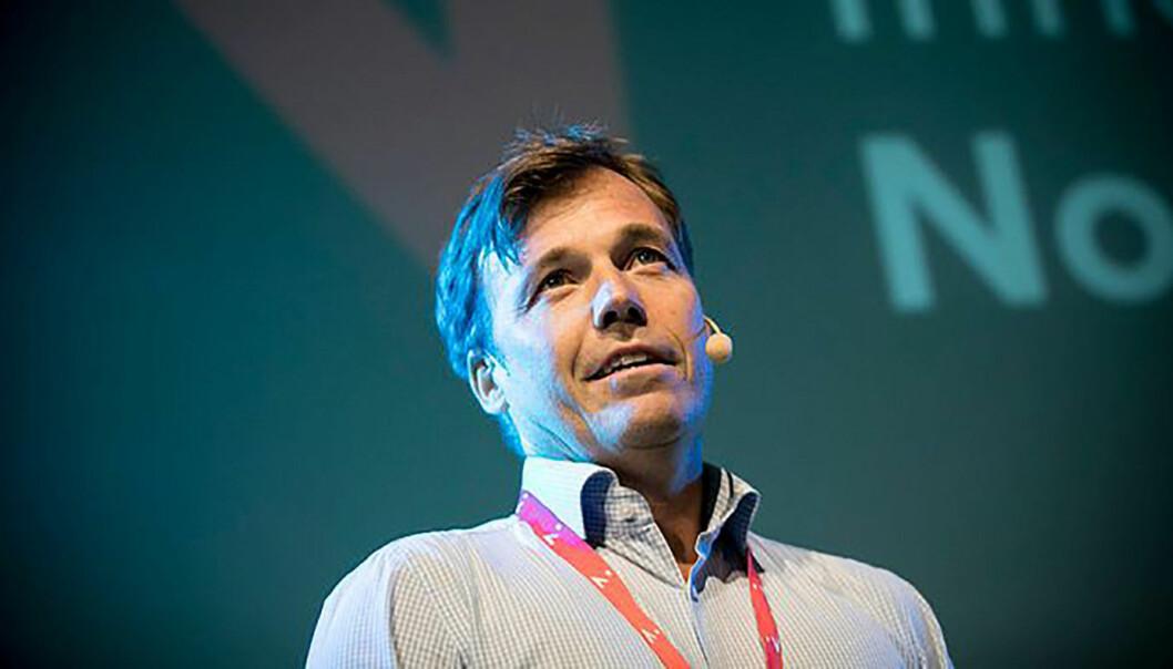 Gründersjef Pål T. Næss i Innovasjon Norge ønsker flere norske scaleups. Foto: Kicki Nilsson/Innovasjon Norge