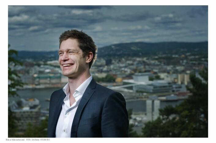 Salgsdirektør Ole Petter Novsett i Disruptive Technologies.