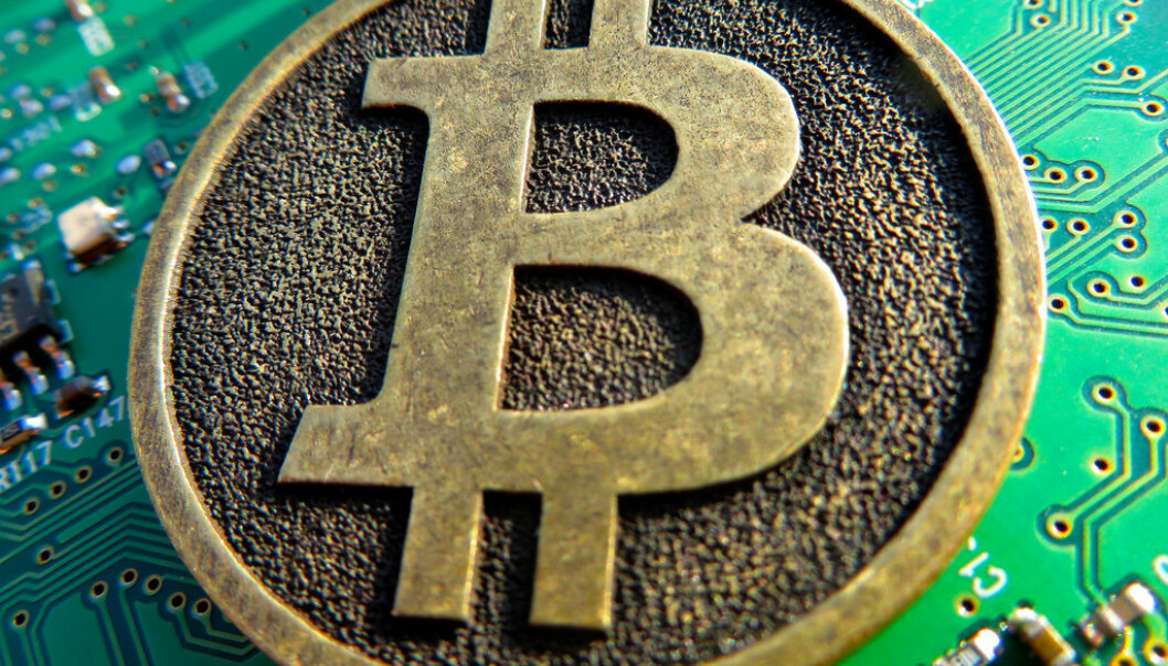 Bitcoin steg raskt i fjor.  Foto: Creative Commons/4liberty.eu