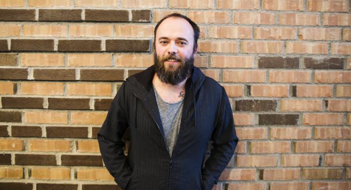 Daglig leder og medgründer Per Buer i IncludeOS. Foto: Per-Ivar Nikolaisen