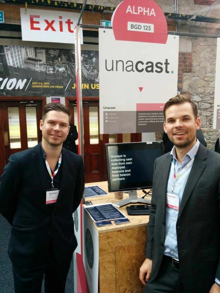 Good old days, da Kjartan Slette og Thomas Walle besøkte WebSummit da Unacast var i støpeskjeen.