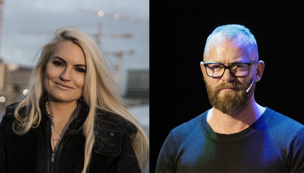 Isabelle Ringnes og Sindre Østgård går inn i Kron-styret. Foto: Per-Ivar Nikolaisen/Gry Traaen