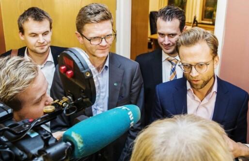 Budsjettavtalen: Venstre presset gjennom endringer i opsjonsskatten