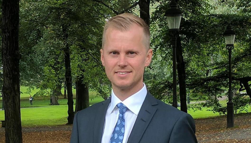 Oneflow-gründer Anders Hamnes.