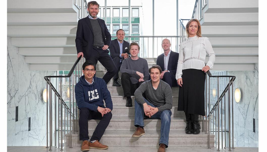 Schibsted har klokkertro på dette teamet, og går nå inn i Fronteer Solutions. Foto: Stian Schioldborg / www.magentastudios.no