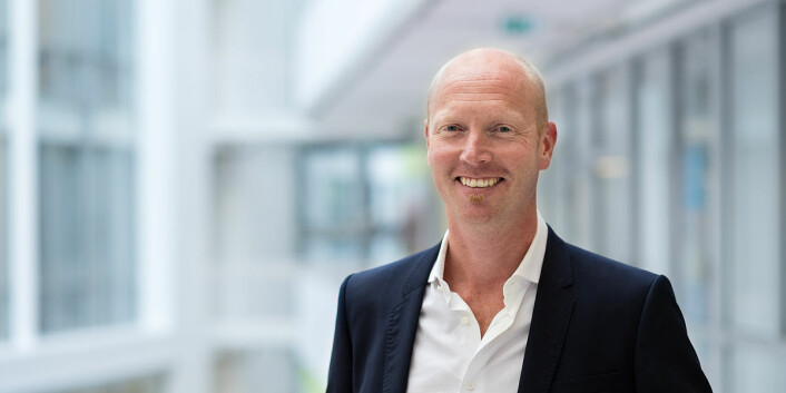 Gründer og CEO Atle Christiansen i Fronteer Solutions. Foto: Stian Schioldborg / www.magentastudios.no