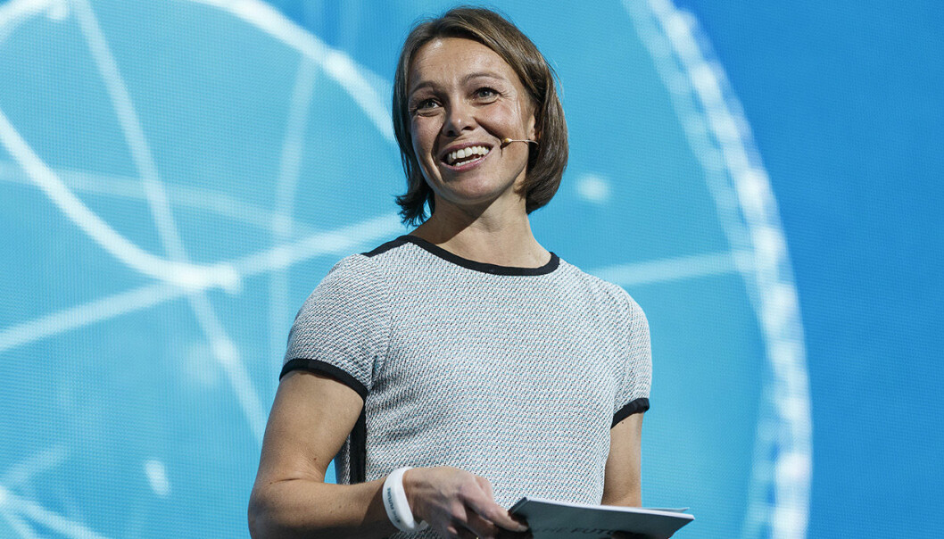 Karianne Melleby i DNB er på startupjakt. Foto: DNB