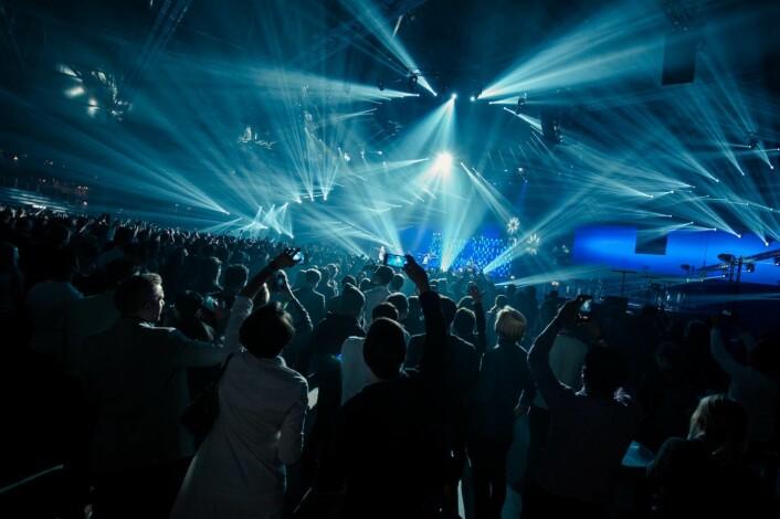 Finnene kan det der med en skikkelig fest, så ikke gå glipp av avslutningspartyet, med en rekke artister. Foto: Slush