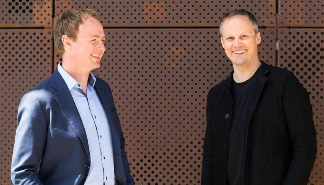 Magne Uppmann og Theodor Bjerrang i SNÖ Ventures. Foto: SNÔ