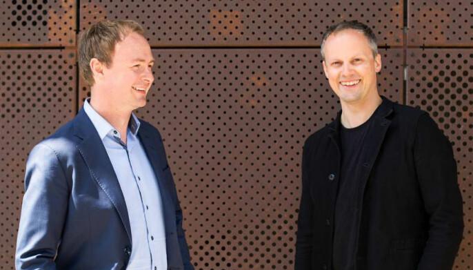 Magne Uppman og Theodor Bjerrang i SNÖ Ventures.