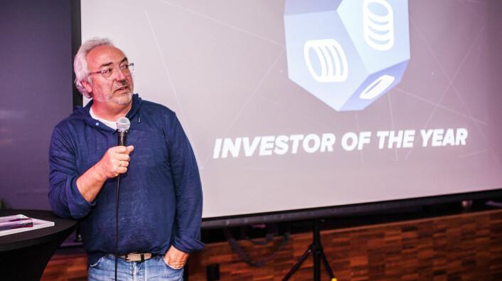 Erling Maartmann-Moe i Alliance Venture er blant investorene som skal på Slush. Foto: Olga Shavrina, Flow