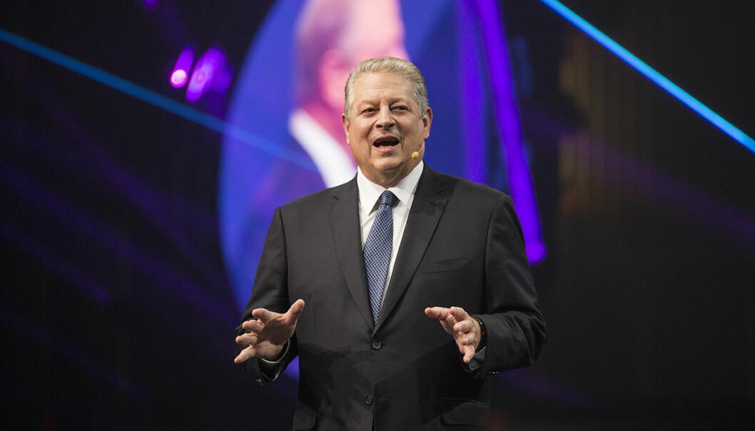 Al Gore, tidligere visepresident, klimaktivist, nobelprisvinner og investor. Foto: Per-Ivar Nikolaisen