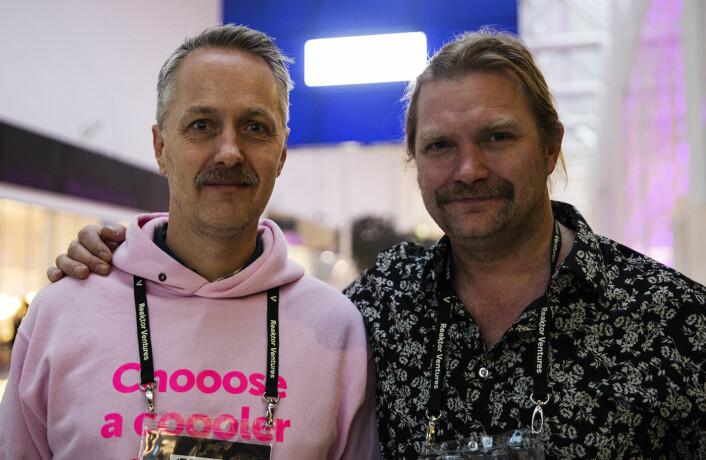 Anders Lier og Tharald Nustad investerer i Iris.ai igjen. Foto: Per-Ivar Nikolaisen