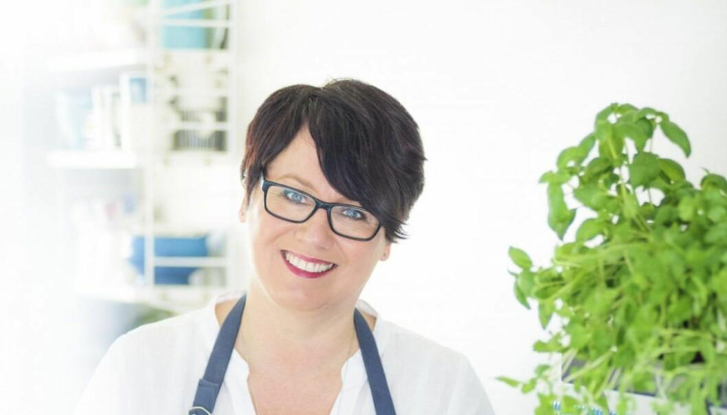 Trine Sandberg. Også kjent som Trines matblogg-Trine. Foto: Mona Nordøy