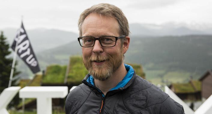 CEO Erik Harstad i Nofence. Foto: Per-Ivar Nikolaisen