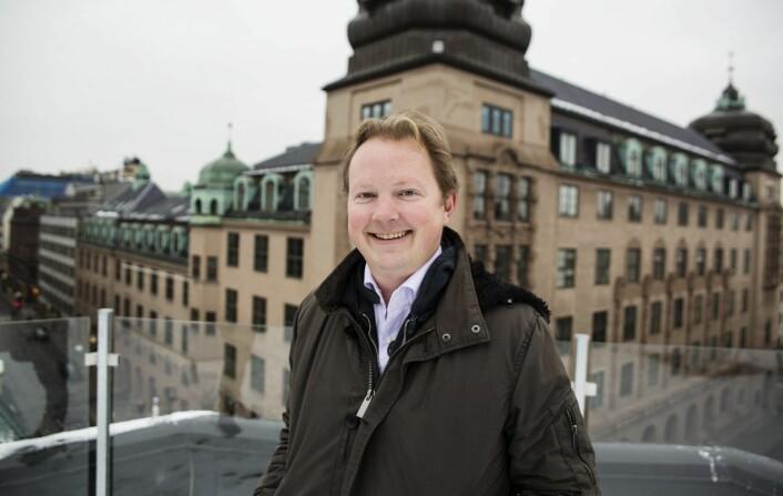 Bjarne Melbye. Foto: Per-Ivar Nikolaisen