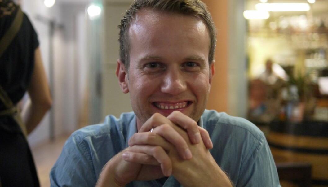 Mats Staugaard er gründer av Kickback og Apple-magasinet mac1.no.  Foto: Privat
