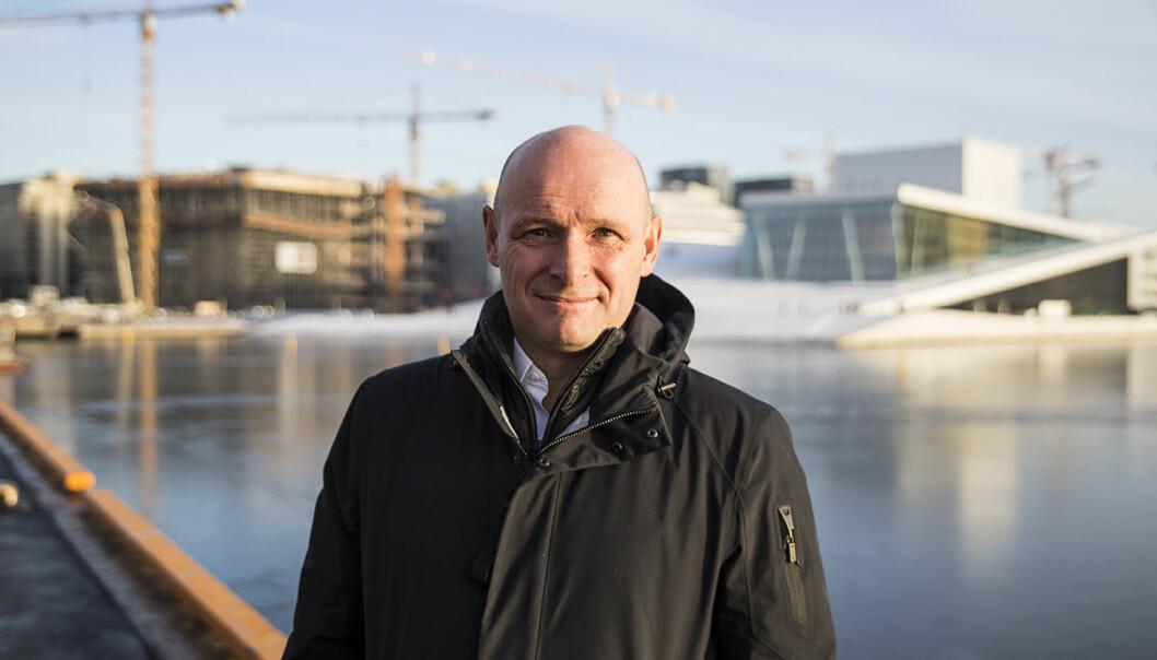 Seriegründer og investor Geir Førre. Foto: Per-Ivar Nikolaisen