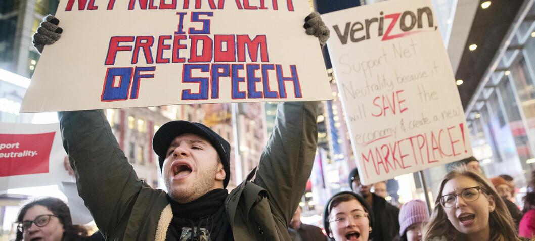 Amerikanske myndigheter opphever krav om nettnøytralitet