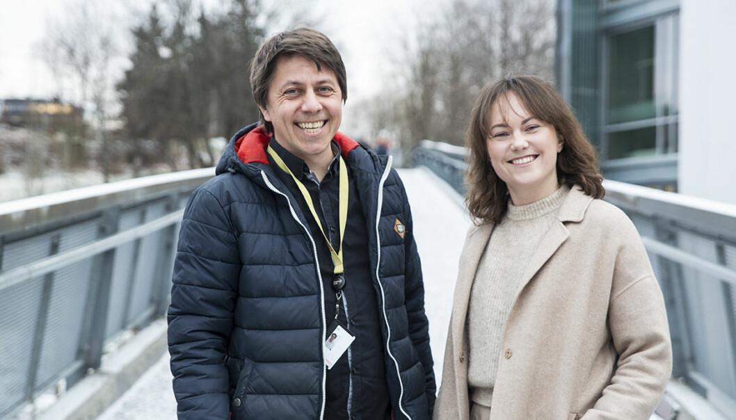 Daniel Senn og Maria Katarina Michelsen er nye partnere i Poio. Foto: Per-Ivar Nikolaisen
