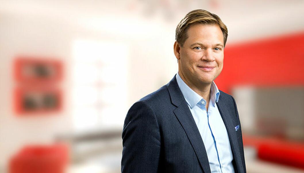 Anders Svensson er sjef for ICA Sverige. Foto: ICA