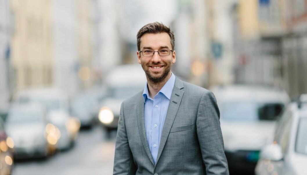 Alexander Hangeng er direktør for digital innovasjon i Posten. Foto: Posten.