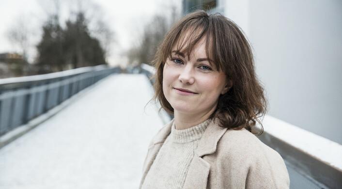Maria Katarina Michelsen er medgründer i Poio. Foto: Per-Ivar Nikolaisen