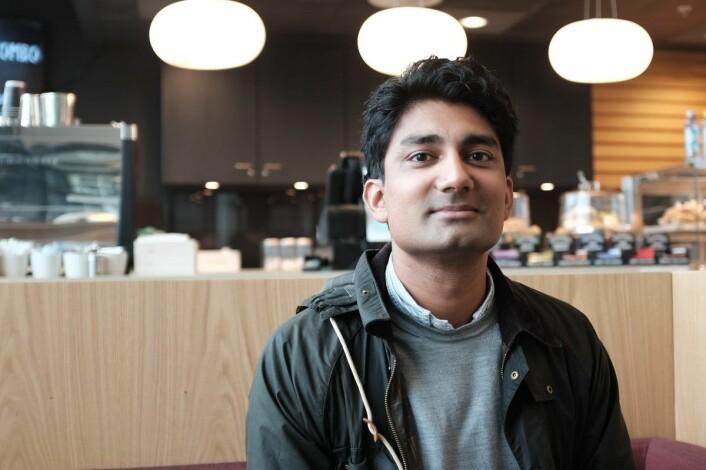 Murshid M. Ali, gründer av Huddlestock forteller at julefeiring på Island og nyttårsfeiring i Stavanger står på planen i år. Foto: Lucas H. Weldeghebriel