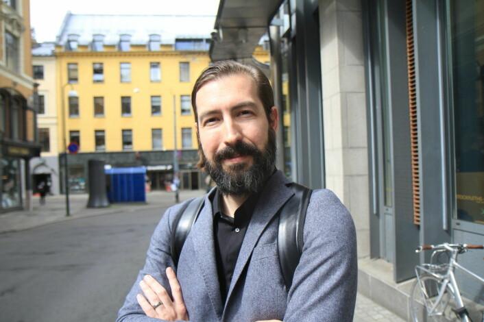Den tidligere varianten av Sean Percival var ikke bare mer skjeggete, men også mindre ydmyk og langt tøffere i trynet i business. Foto: Lucas Weldeghebriel