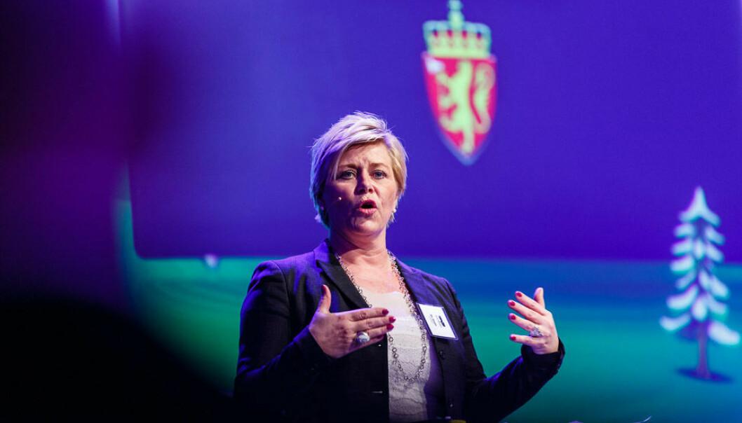 Siv Jensen. Foto: Norsk Olje og Gass