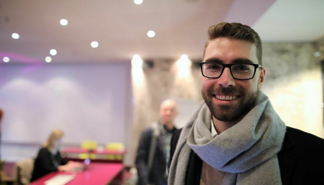 Claes Mikko Nilsen er leder for NordicBan. Det nordiske engleinvestor-nettverket. Foto: Lucas Weldeghebriel