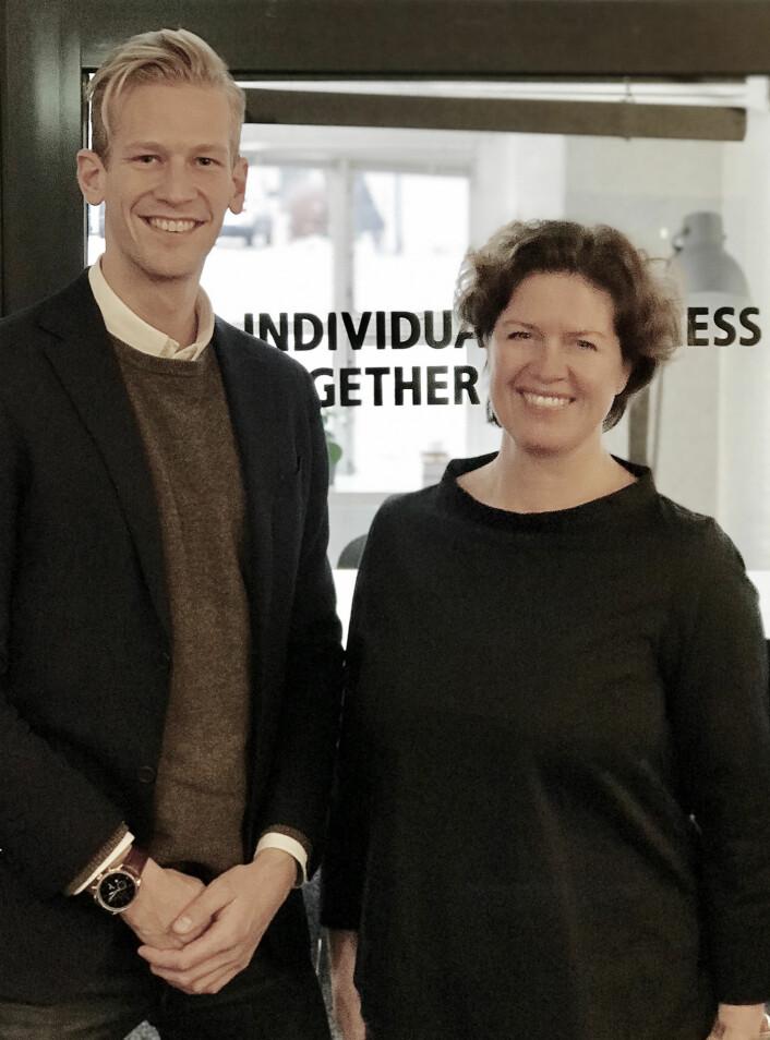Espen Malmo og Anniken Fjelberg går sammen. Foto: 657 Oslo