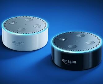 Echo dot var det mest solgte produktet på hele Amazon i julesesongen. Nå kommer lydstyring for fullt!