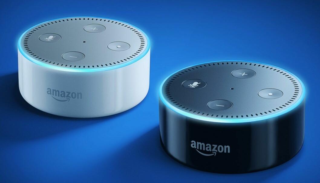 Eco Dot styrer hjemmet ditt via dine stemmekommandoer. Foto: Amazon