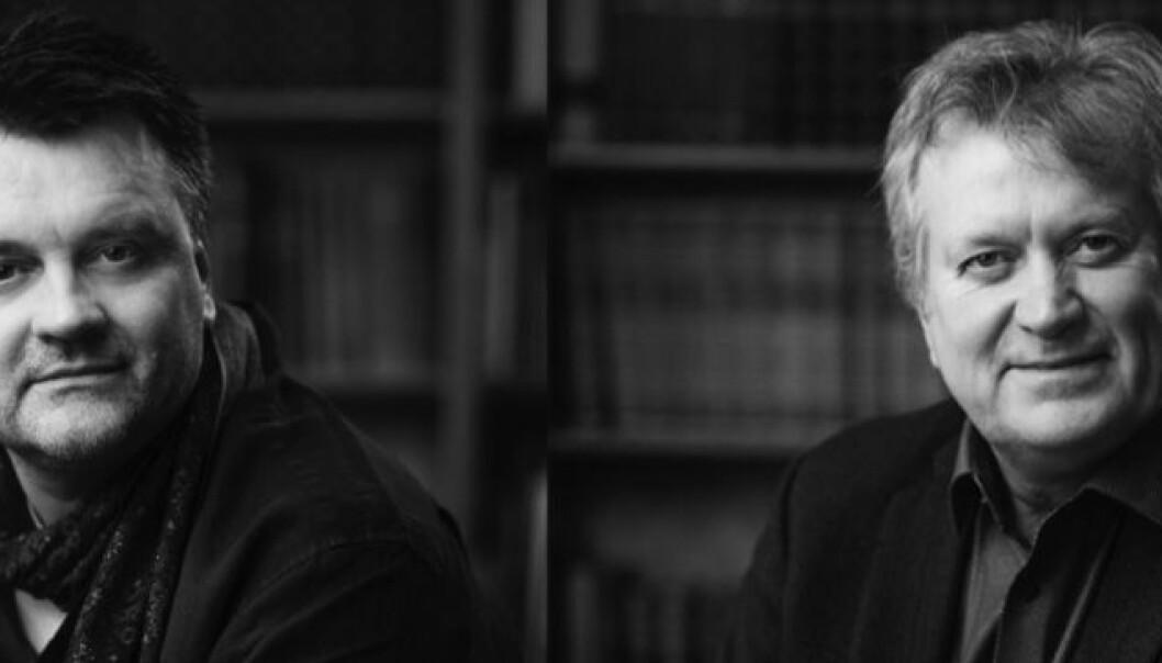 Leiv Kåre Johannessen (t.v.) og Magne Aarset i TERP. Foto: TERP