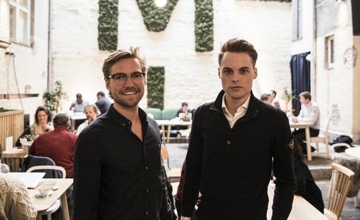 Oscar Hellenes i KeyButler og Gustav Witzøe fant sammen tidligere i år. Foto: Per-Ivar Nikolaisen