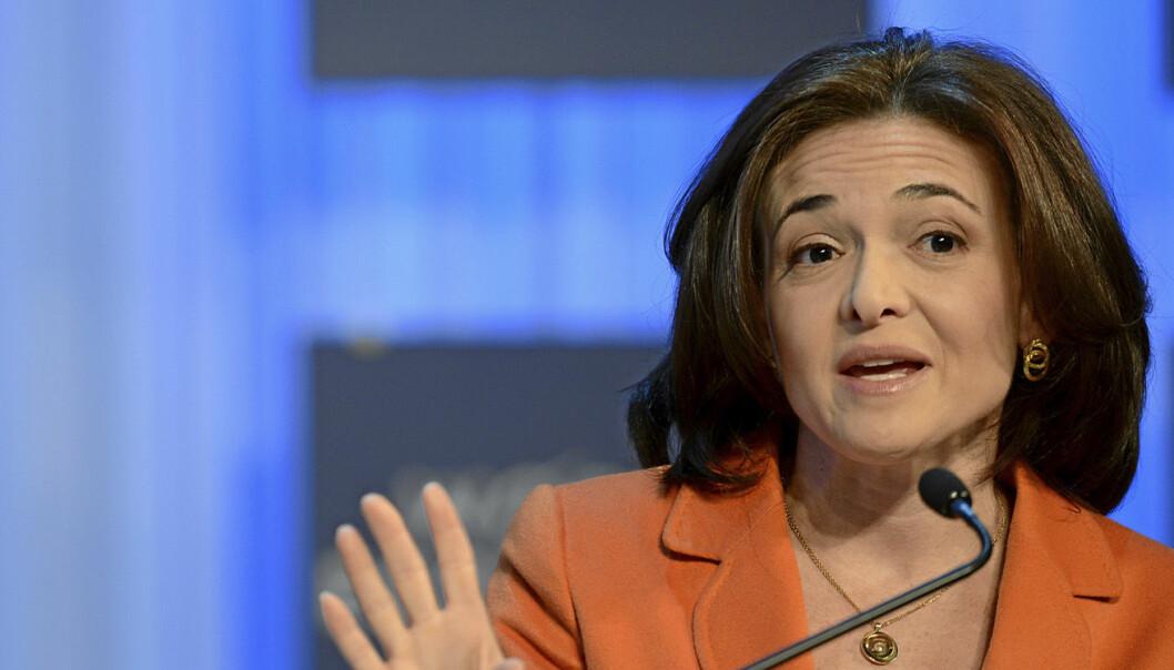 Sheryl Sandberg i Facebook har valgt å gå ut av Disneys styre. Foto:  Michael Wuertenberg (World Economic Forum). Lisens for foto: https://creativecommons.org/licenses/by-nc-sa/2.0/
